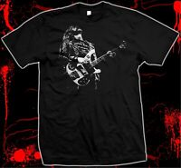 Lemmy Kilmister - Hand Silk Screened, Pre-shrunk 100% Cotton T-Shirt