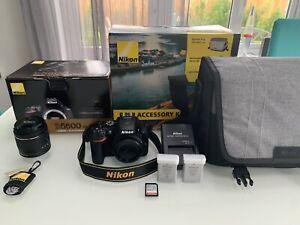 Nikon D5600 24.2 MP Digital SLR Camera - Black (Kit with 18-55mm Lens)