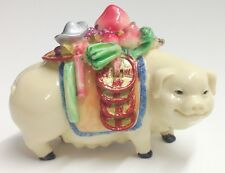Prosperity Pig Feng Shui Display Perfect Home Office Decor Gift