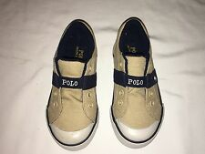 NWB POLO RALPH LAUREN BOY shoe 8