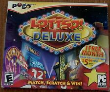 PoGo LOTTSO DELUXE, Match, Scratch, Win, PC Video Game - BRAND NEW IN PACKAGE