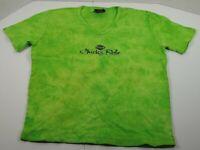 Harley Davidson Chicks Rule Green T-shirt Womens Sz XL Mt Cheaha