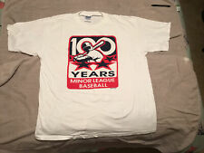 Vintage T-Shirt 100 Years Of Minor League Baseball Xxl Minty! 2001