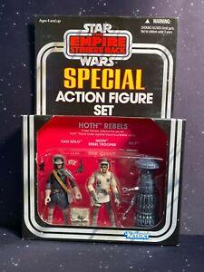 2012 Star Wars Vintage Collection 3 Pack Target Exclusive Hoth Rebels Set