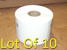 Lot Of 10 New Genuine IDEXX 3 1/2 x1 15/16 Veterinary Prescription Label Rolls