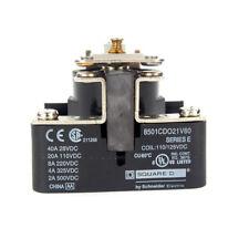 Square D 8501CDO21V60 Power Relay 110 VDC SPST