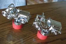 Vintage Antique JEEP Trophy Figurine CJ1, CJ2 Set of Two NOS