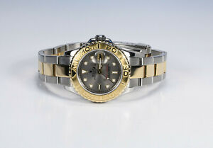 "Rolex "" Yachtmaster Steel/Gold "" Ladies Watch From 2001 Reference 169623"