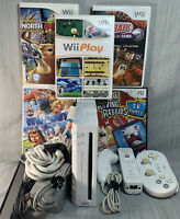 Nintendo Wii White Gaming Console, W/ Wii Play, GameCube ready, Pro Controller