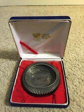 "1988 Seoul Korea Olympic Games Metal 4""  Stadium Trophy in Case"