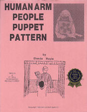Human Arm People Puppet Pattern for Puppet Ministry
