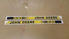 John Deere Garden Tractor 330 Hood Decals Set