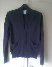 "Topman Plain Purple Cardigan Size: UK ""Small"" (36in-38in)"