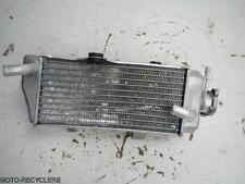 09 CRF450R CRF450 Right Radiator with cap #194-14198