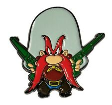 Yosemite Sam Cartoon Character Metal Enamel 1 Inch Tall Pin