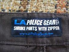 LA Police Gear Mens 42W 42x32 (Actual 38x30.5) Brown Shrike Pants CCP1017 60/40