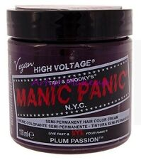 New Punk Manic Panic Cream Formula Semi-Permanent Hair Color Dye All Colors 4 oz