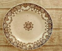 Old Antique Dinnerware Plate Dishes Napier H A & C E Marked Floral Design