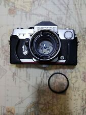 Petri FT 35mm Camera Package with 55mm 1.8 and leather half case