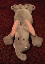 Funny Flat Laying Elephant Plush