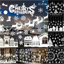 Weihnachten Fenstersticker Fensteraufkleber PVC Fensterbilder Frohe Weihnachten!