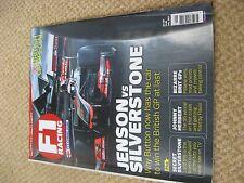 F1 Racing magazine - July  2012 - Silverstone - British GP edition