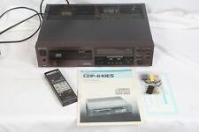 Sony CDP-610ES CD player w/ Remote RM-111