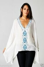 Rayon Hand-wash Only Casual Geometric Tops & Blouses for Women