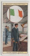 Flag Of The Irish Free State 80+ Y/O Ad Trade Card