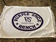 Nwot Purple Sage Ranch Bandera Tx Throw Blanket