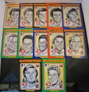 1976 Linnett Baseball CINCINNATI REDS Team Set