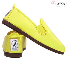 Ladies Women's Flossy Style Men's Javer Plimsolls Girls Flat Espadrilles Shoes