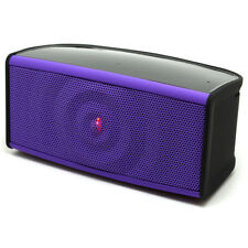 Ripple Bluetooth Speaker 2 front speakers subwoofer & microphone - Purple