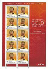 Australia 2008 - Sports Olympic Games Beijing Medalists Sailing - Sc 2923 MNH