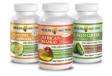 Garcinia Cambogia,African Mango,Green Coffee Cleanse.Clean & Detoxify Your Body