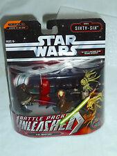 Star Wars UNLEASHED Battle Packs ORDER SIXTY-SIX: 'Jedi Masters'- 4pc Figure Set