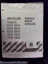 New Holland 5110 5610 6410 6610 7710 5900 Tractors Part Manual