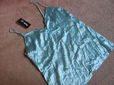 Style & Co. Sea Green Sleepwear Tank Top Camisole Lace Lingerie Size 10P