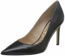 Sam Edelman Womens Hazel Leather Pointed Toe Classic, Black Leather, Size 8.0 IP