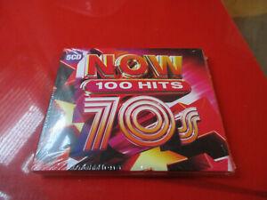 NOW 100 Hits 70s (CD, 2020, Box Set) 5 CDS