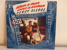 PERCY SLEDGE When a man loves a woman Disque PUB Levi's 501