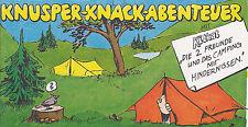 KNUSPER-KNACK-ABENTEUER Die 2 Freunde und das Camping mit ... Piccolo Werbecomic