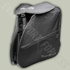 Transpack XT1 Ski/Snowboard Boot Helmet and Gear Bag Backpack - Black (NEW)