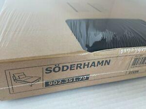 Ikea SODERHAMN Chaise COVER ONLY, samsta dark gray - NEW