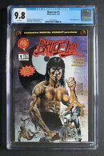 BRUCE LEE #1 1st MORTAL KOMBAT Comic Preview 1994 Malibu Reboot Movie CGC 9.8
