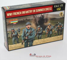 Strelets M134 - WWI French Infantry in Summer Dress - 1/72 Scale