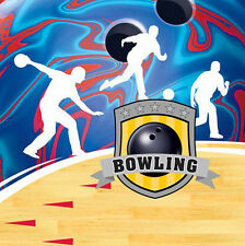 BOWLING LUNCH NAPKINS (16) ~ Birthday Party Supplies Serviettes Dinner Sports