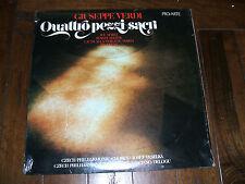 Giuseppe Verdi - Quattro Pezzi Sacri 1981 LP Pro Arte Records Maria SEALED M/NM
