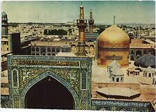 IRAN THE GOLDEN DOME MESHED MOSQUE ISLAM STAMP ON BACK - OLD POSTCARD