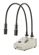 LE.5208 Euromex 2 x 1 Watt Led Kaltlichtbeleuchtung New